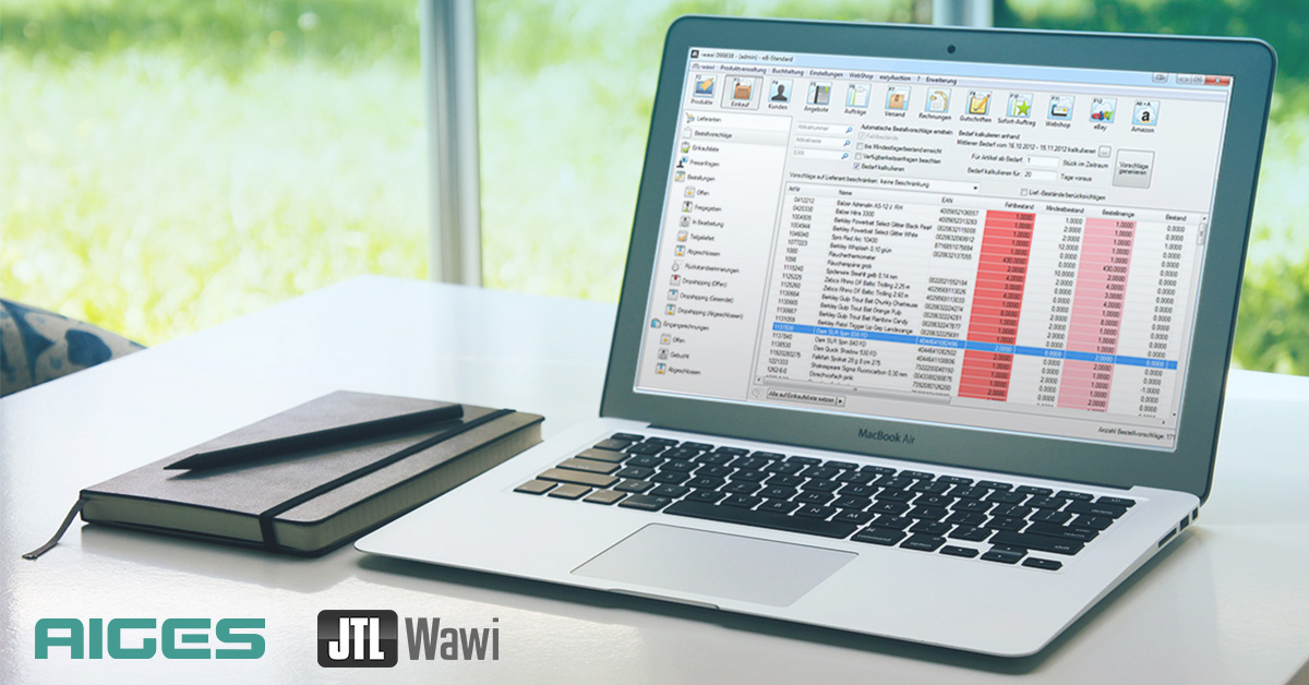 AIGES JTL-WaWi Workshop 1.0 - Banner